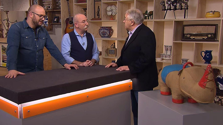 Bares für Rares: Sven Deutschmanek, Horst Lichter, Verkäufer