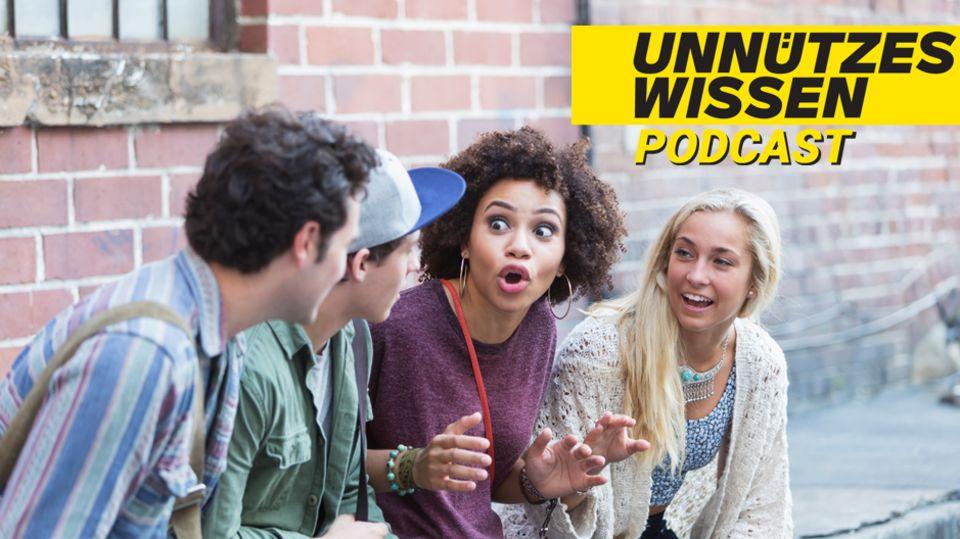 """Podcast """"Unnützes Wissen"""": Fakten zum Thema Sprache"""