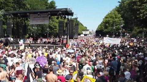 """Querdenken 711"" plant vorerst keine weitere Corona-Demo in Berlin"