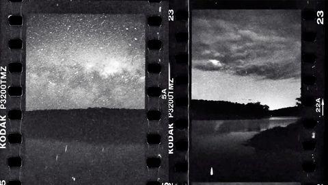 Timelapse: Zeitraffer der Milchstraße