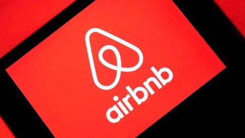 Das Logo der Sharing-Plattform Airbnb