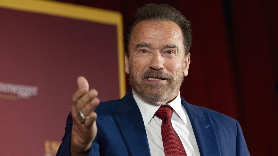 Arnold Schwarzenegger, Schauspieler aus Österreich und ehemaliger Gouverneuer von Kalifornien