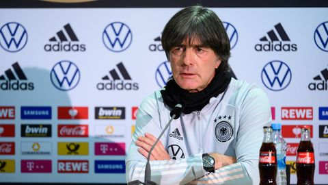 Nationalcoach Jogi Löw nach dem 1:1 gegen Spanien in der Nations League