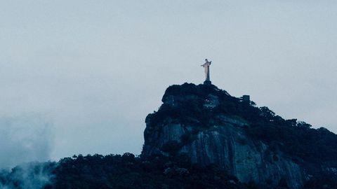 Die Jesus-Statue in Rio de Janeiro