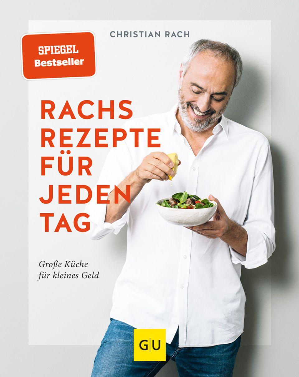 """""""Rachs Rezepte für jeden Tag – Große Küche für kleines Geld"""" ist im GU Verlag erschienen und für 24,99 Euro erhältlich."""