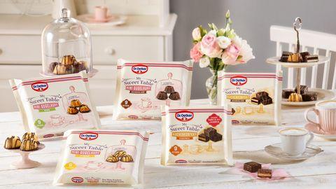 Gewinnspiel: Mini-Kuchen für die Genussauszeit zwischendurch: My Sweet Table von Dr. Oetker