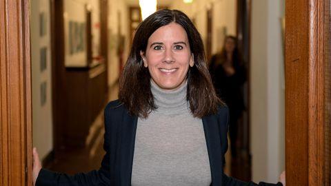 FDP-PolitikerinKatja Suding in der Hamburgischen Bürgerschaft