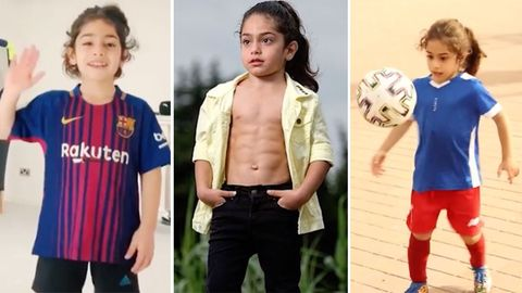 "Arat Hosseini: ""Mini-Messi"" wird zum Fußball-Weltstar getrimmt"