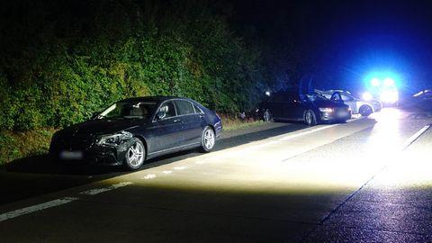Der Unfall mit dem Fahrzeug von Kretschmann, dem Begleitfahrzeug und einem anderen Pkw