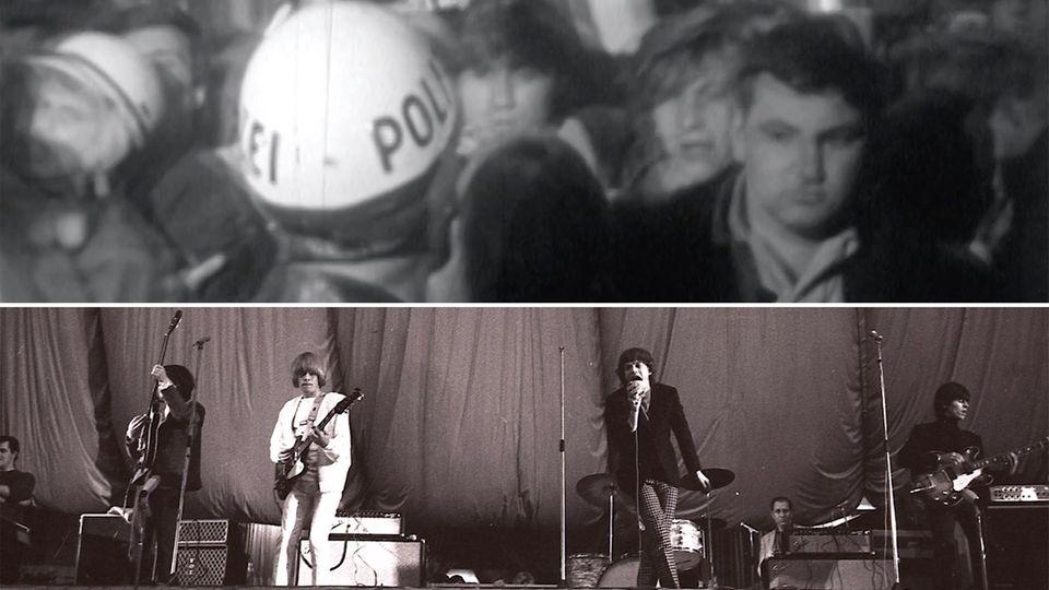 Vor 55 Jahren: Straßenschlachten bei Rolling-Stones-Konzert in Hamburg