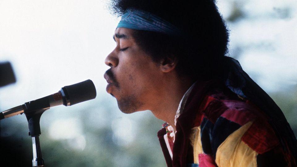 Jimi Hendrix in Fehmarn