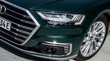 Audi A8 - zahlreiche Fahrerassistenzsysteme und Hightech-Scheinwerfer