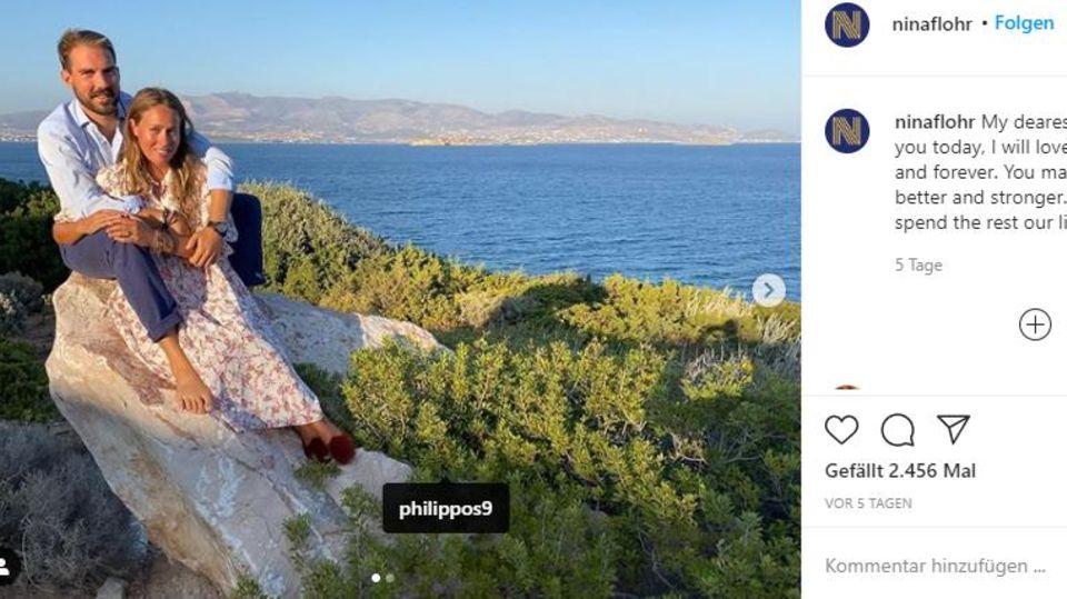 Auf dem Königsweg: Romantik pur beim griechischen Königshaus - dabei gibt es diese Royals offiziell gar nicht mehr