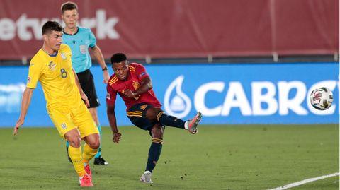 Ist er der neue Messi? Ansu Fati ist mit 17 Lenzenschon recht weit in seiner Entwicklung