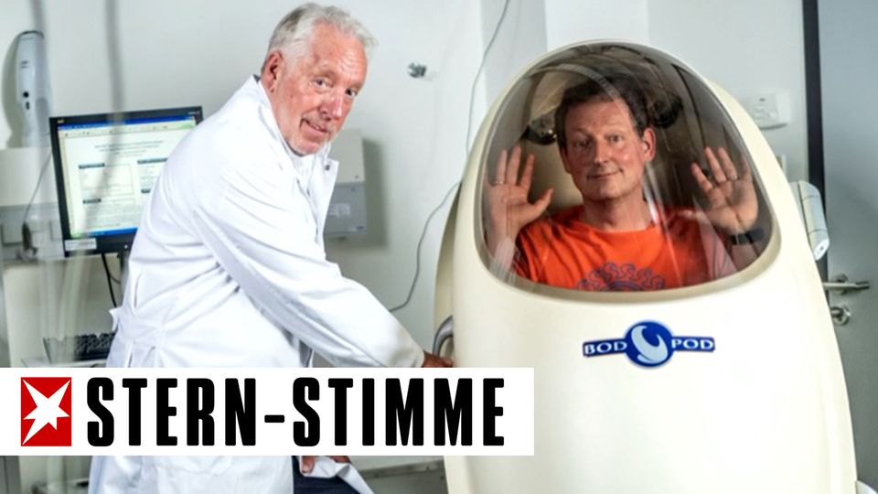 Eckart von Hirschhausen trifft Prof. Gunga.
