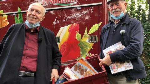 Reiner Calmund und Werner Hansch