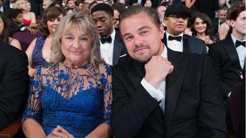 Leonardo DiCaprio und seine Mutter Irmelin Indenbirken