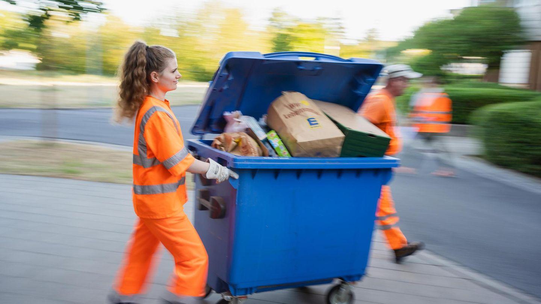 Müllabfuhrleute