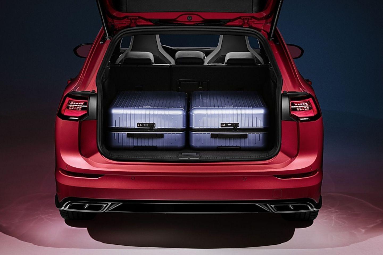 Das maximale Kofferraumvolumen beträgt 1.642 Liter