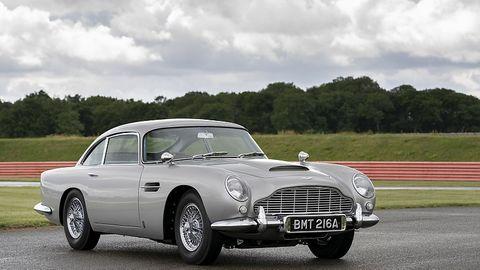 Vom Aston Martin DB5 Goldfinger Continuation Car werden nur 25 Stück gebaut