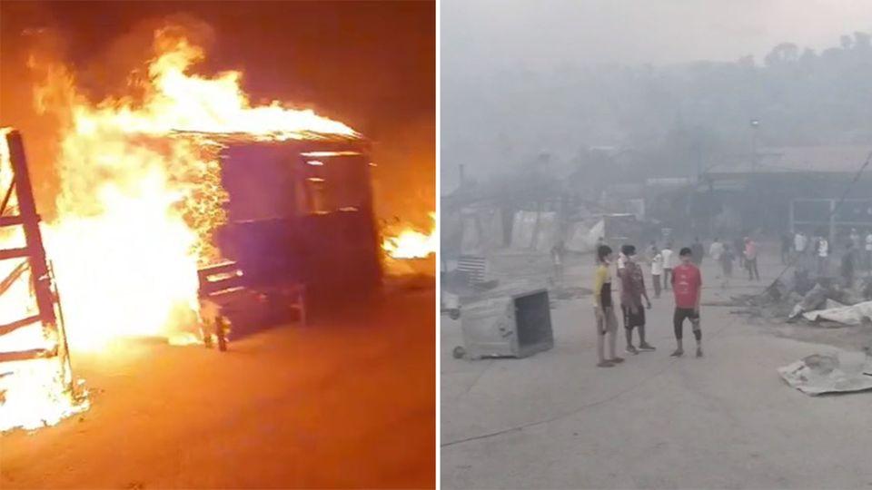 Moroa: Augenzeugen-Videos zeigen das Ausmaß der Feuerkatastrophe