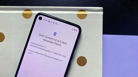 Android 11 ist auf ausgewählten Geräten wie dem Pixel 4a bereits verfügbar