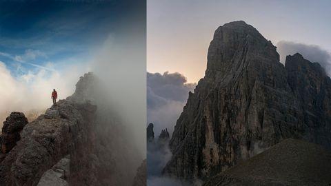 """""""Dolomiten ohne Grenzen"""": Ein Klettersteig in den Dolomiten führt den Wanderer tief in die Geschichte – zu Korallenriffen und auf Kriegswege"""
