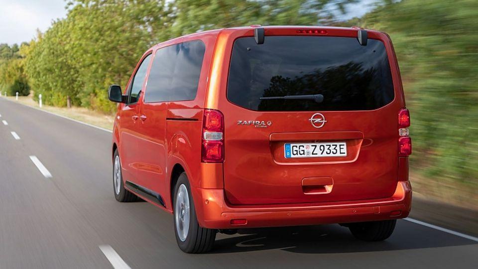 Den Opel Zafira-e Life gibt es in drei Längen