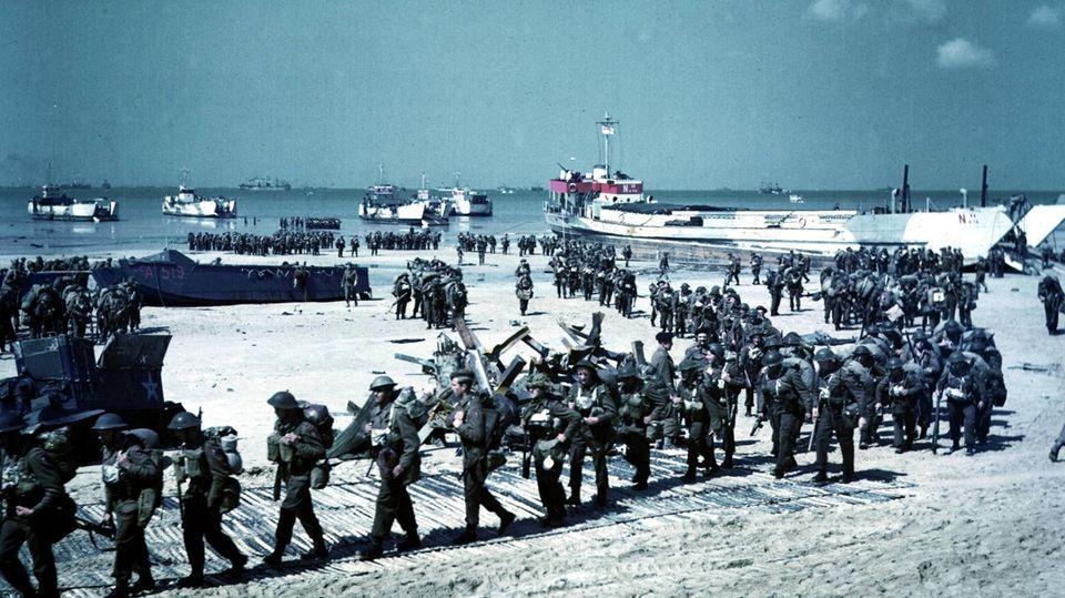 6. Juni 1944: Die Alliierten stürmen die Strände – und Hitler schläft: So lief der D-Day in der Normandie ab