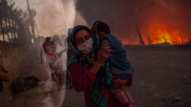 Bundesinnenminister Horst Seehofer; Brand im Flüchtlingslager Moria auf Lesbos