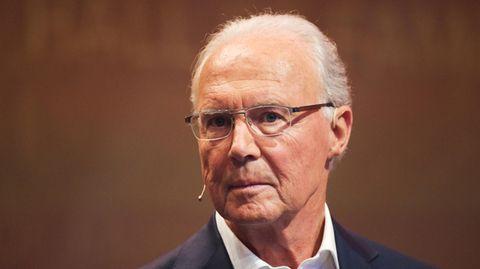 Franz Beckenbauer im April des vergangenen Jahres auf der Gala zur Einweihung der Hall of Fame des deutschen Fußballs