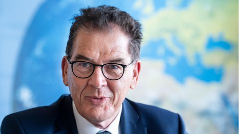 Bundesentwicklungsminister Gerd Müller