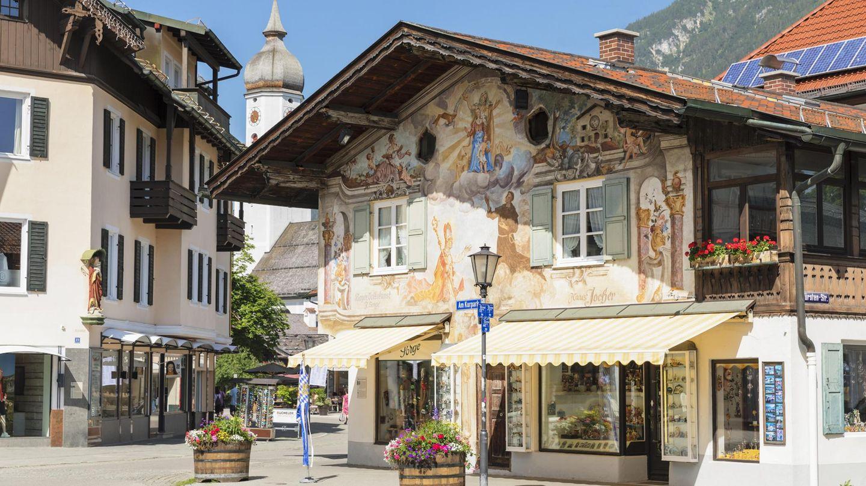 Karlsplatz in Garmisch-Partenkirchen