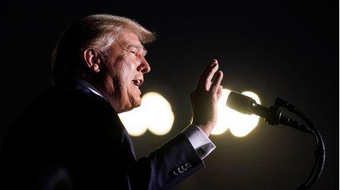 Donald Trump, Präsident der USA, spricht