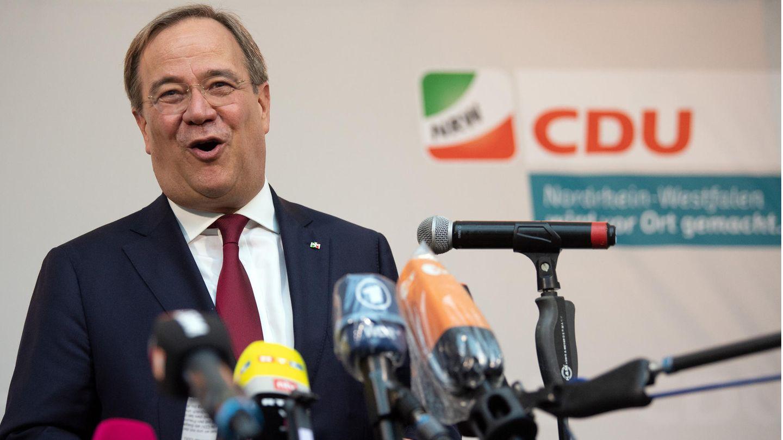 Ministerpräsident Armin kann zufrieden sein: Die CDU wurde bei der Kommunalwahl stärkste Kraft in NRW