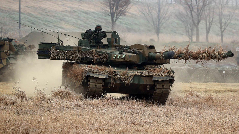 Der K2 Black Panther der südkoreanischen Armee.