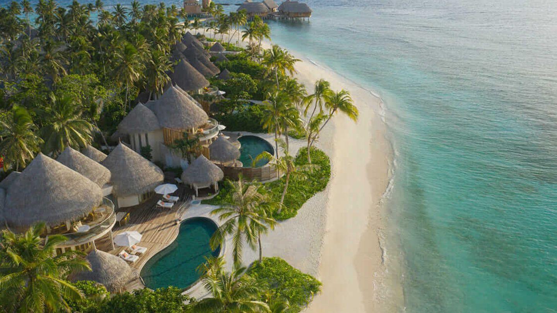 Das Resort The Nautilus Maledives auf den Malediven