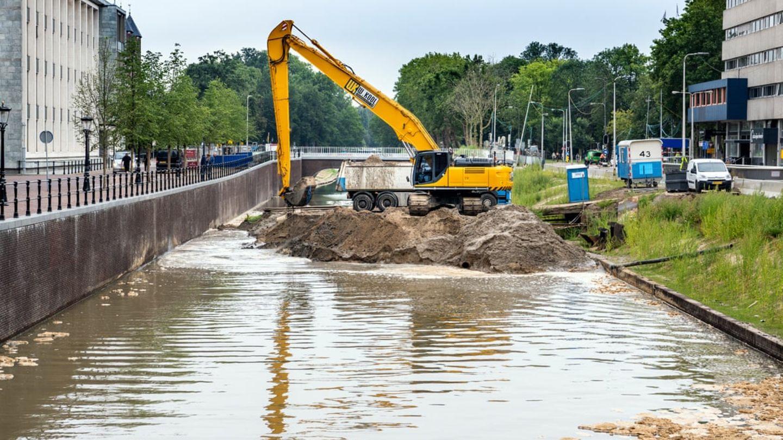 Es dauerte Jahre den Kanal wieder freizulegen.