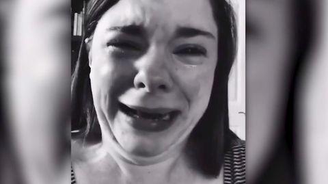 TikTok-Video: Mutter aus den USA weint