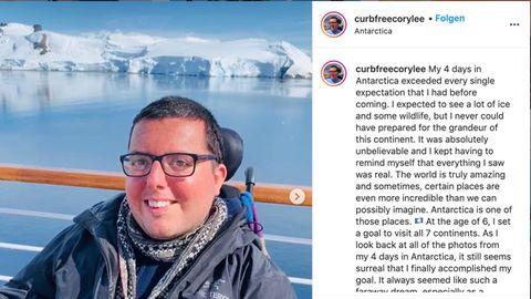 Barrierefreies Reisen: Erster Rollstuhlfahrer bereist alle sieben Kontinente