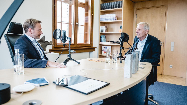 Christian Lindner im Gespräch mit Ulrich Wickert