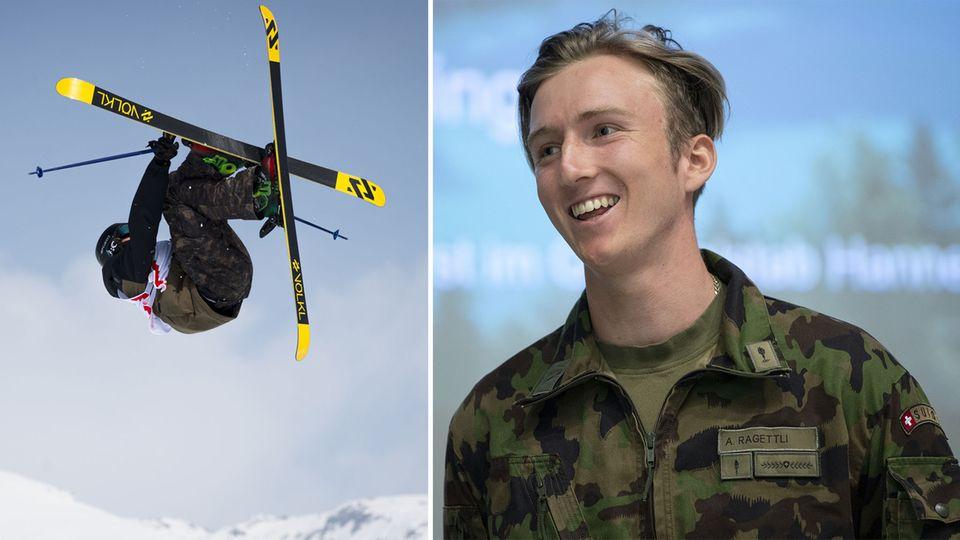Andri Ragettli: Ski-Weltcupsieger führt halsbrecherisches Doppelleben