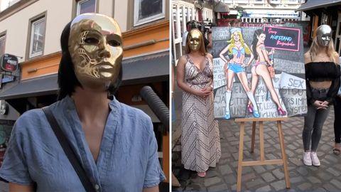 Hamburger Prostituierte sprechen über Corona-Lockerungen.