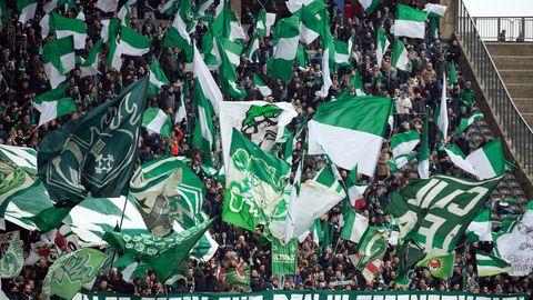 Fans von Werder Bremen
