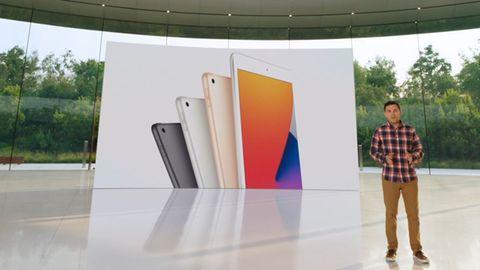 Apple Watch, iPads und mehr: Apples großes September-Event live: Das neue iPad 8 ist so schnell wie nie