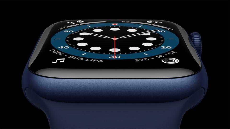 Zwei neue Uhren: Neue Farben, mehr Sensoren: Das unterscheidet die Apple Watch Series 6 vom Standard-Modell
