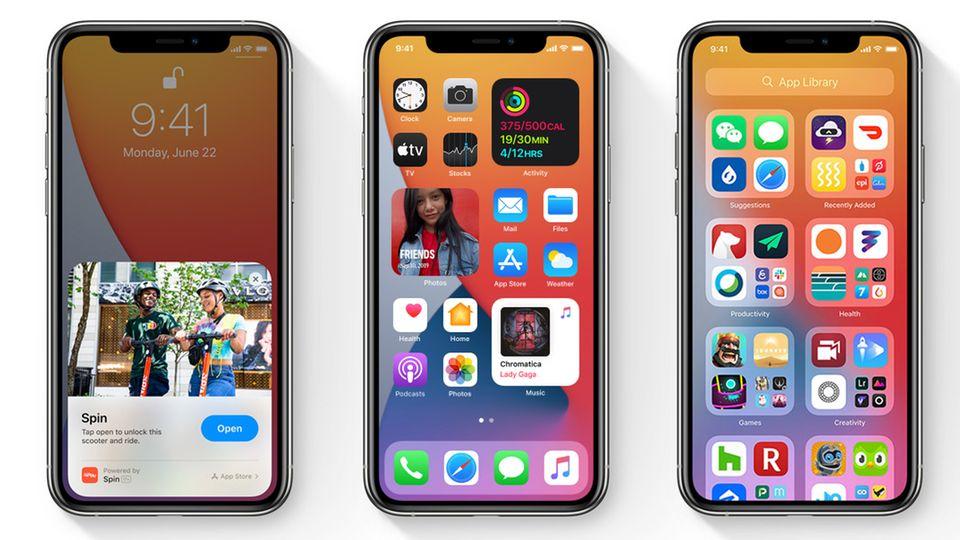 Neues Betriebssystem: Diese Geräte erhalten iOS 14