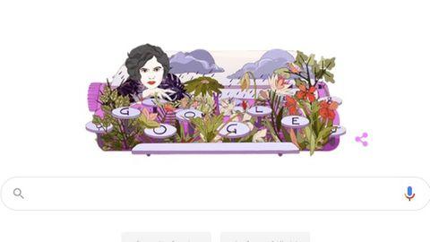 Mascha Kaléko im Google Doodle