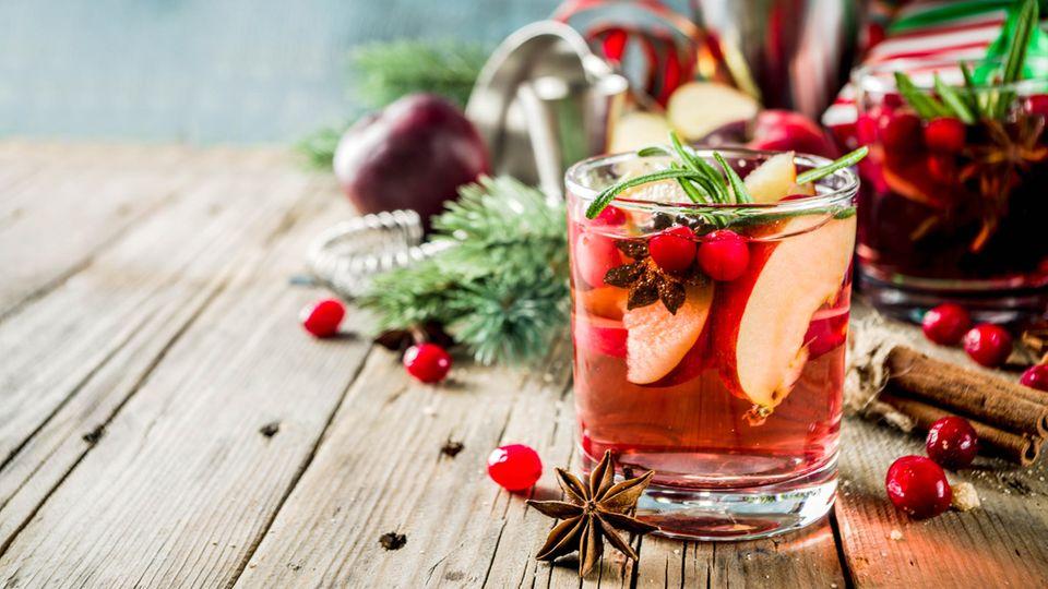 Auch Früchtetee schmeckt kalt lecker