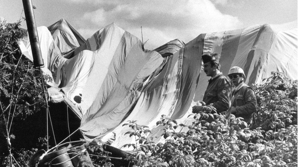 16. September 1979: Tollkühne Flucht mit dem Heißluftballon aus der DDR